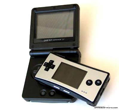 Gameboy Micro Vs Gameboy Advance Sp